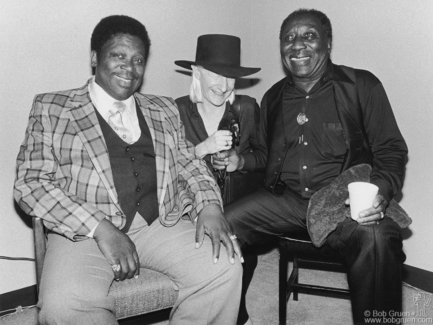 BB King, Johnny Winter and Muddy Waters, NYC - 1979