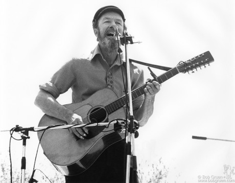Pete Seeger, NYC - 1975