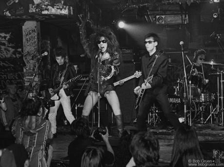 Sheena & The Rokkets, NYC - 1993