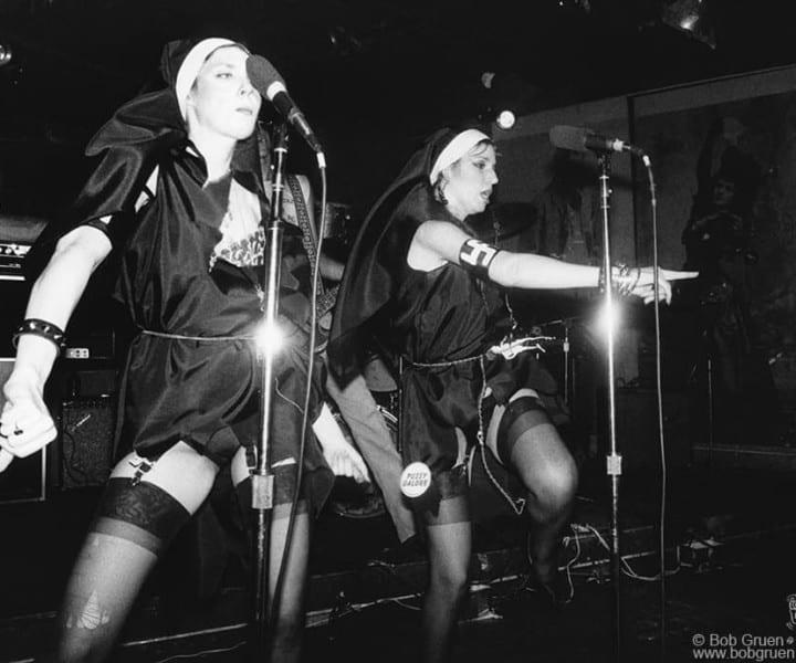 Sic Fucks, CBGB, NYC. September 1977. <P>Image #: R-521 © Bob Gruen