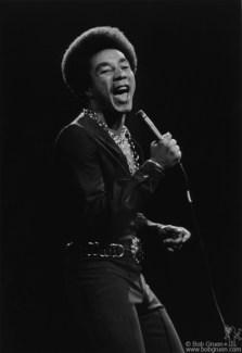 Smokey Robinson, NYC - 1972
