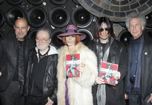 March 29 - NYC - Linda Ramone came to the John Varvatos store, formerly CBGB, to celebrate the release of a book by her late husband Johnny Ramone.