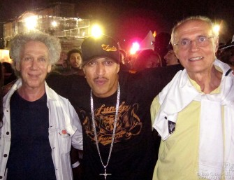 April 8 - Sao Paulo - I went with Senator Eduardo Suplicy to see the Racionais, a very popular and powerful Brazilian rap group.