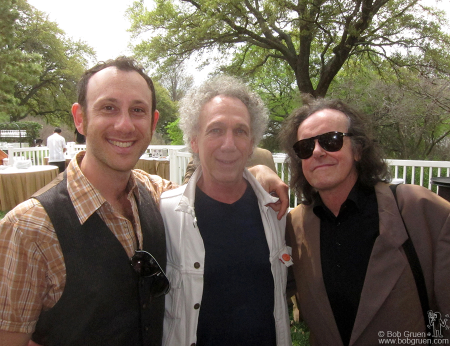 March 17- Austin, TX - My son Kris and I met folk legend Donovan at the BMI breakfast.