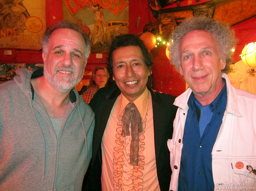 March 17 - Austin, TX - I met up with old friends Jody Denberg and Alejandro Escovedo at Maria's Taco Xpress.