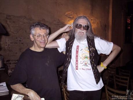 Peter Stampfel & Steve Weber, NYC - 2001