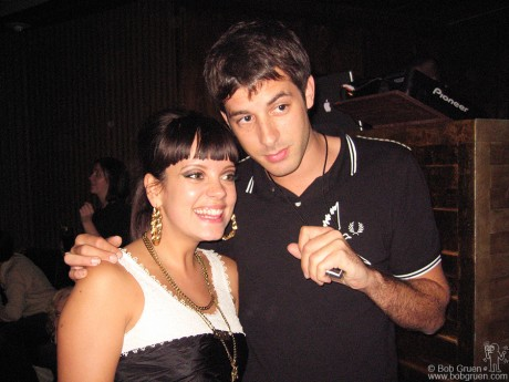 Lily Allen & Mark Ronson, NYC - 2006