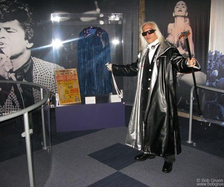 Yuya Uchida, Roll Hall of Fame Annex, NYC. December 2008. <P>Image #: C-319 © Bob Gruen