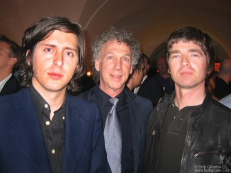 I was also patted on the back by presenter Carl Barat of the Libertines and award winner Noel Gallagher.