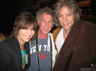 Earlier in the week I saw old friends Chrissie Hynde and Sir Bob Geldof at the NY Dolls reunion show.