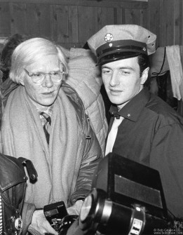 Andy Warhol & Joe Strummer.
