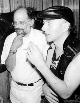 Allen Ginsberg & Joe 1982.