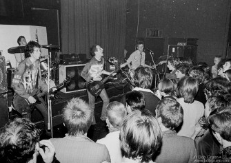 Clash at the ICA London 1976.