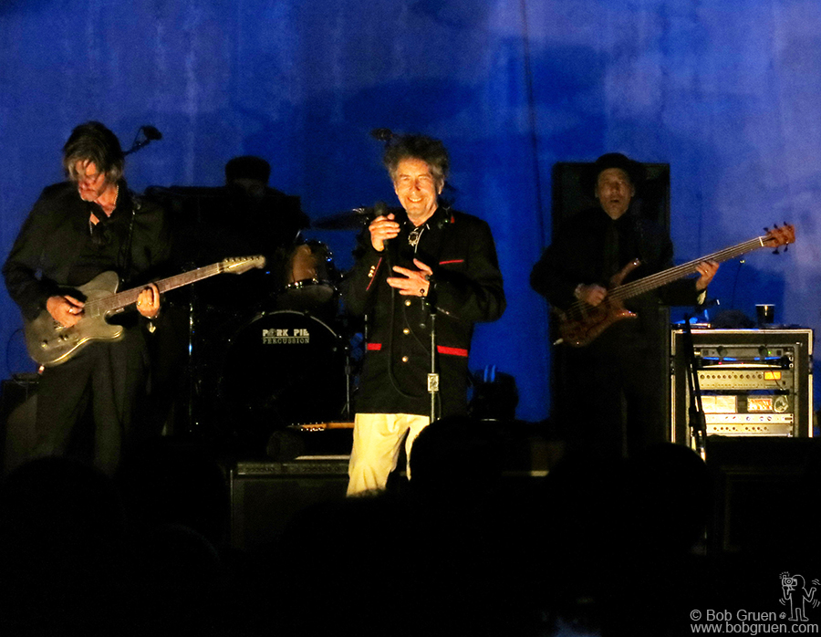Sept 4 - Port Chester, NY - Bob Dylan performing at opening night for the newly renovated Capitol Theatre.