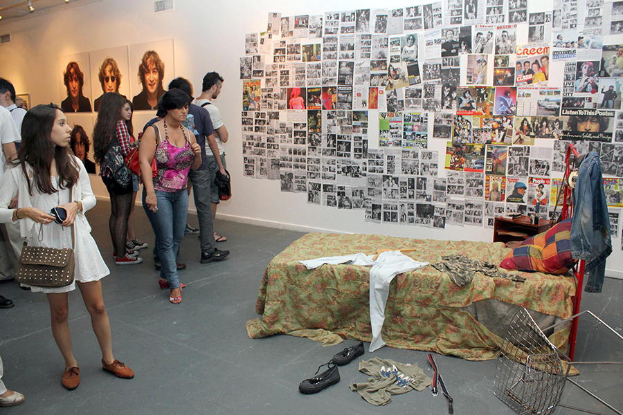 The exhibit was very large and included a 'Teenage Bedroom' section which was very popular.