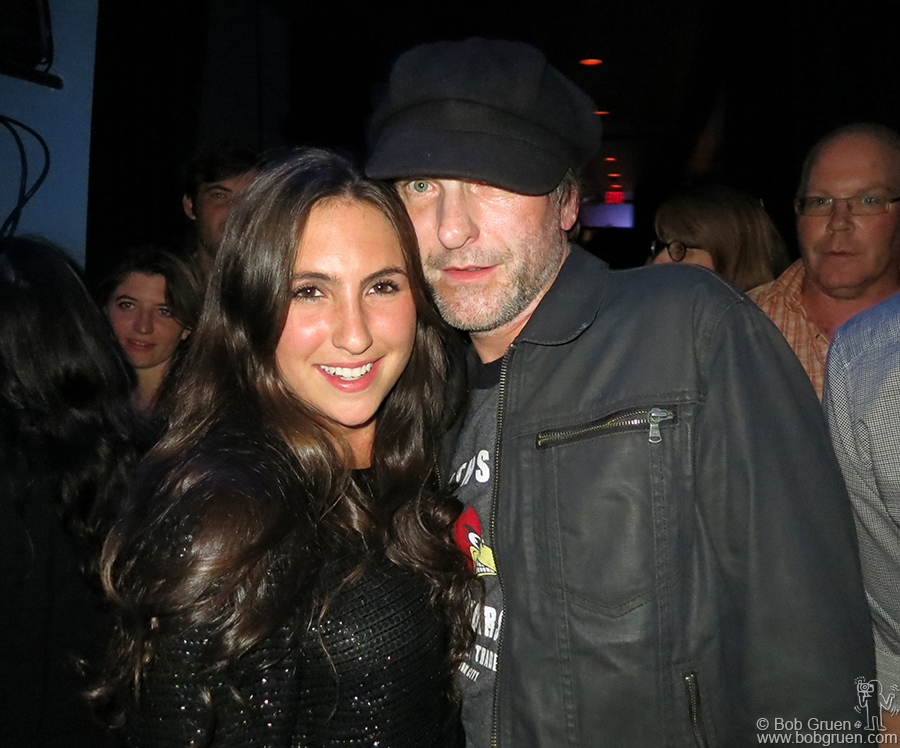 Sept 12 - NYC - Tommy Stinson backed up his daughter Ruby's set at the monthly Bowery Electric 'Soul City' night.
