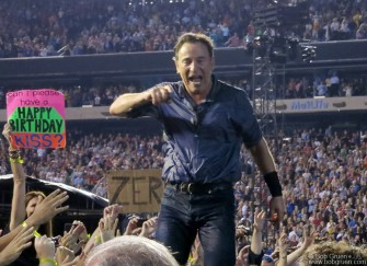 September 22 - Met Life Stadium - Bruce Springsteen celebrated his 63rd birthday onstage with a hometown New Jersey crowd ....until 1:45 am!