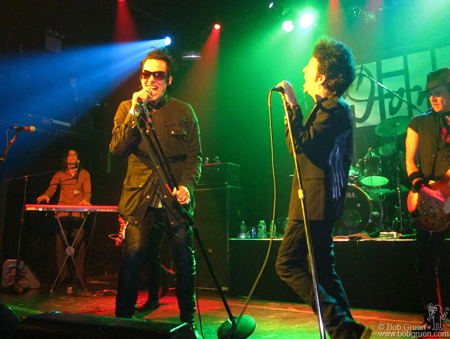 Dec 15 - NYC - Michael H and Willie Nile rocked out at Irving Plaza for the Don Hill Memorial concert.