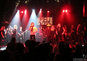 Dec. 15 - David Johansen led the big finale which included Bebe Buell, and the Uptown Horns and Trigger, who get a very big Thank You! for organizing the Don Hill Memorial concert.