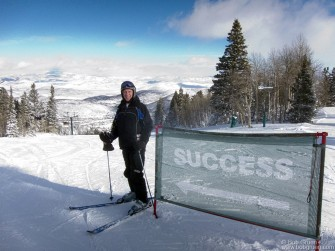 The real reason I go to the Sundance Film Festival is so I can go skiing with Toby Mamis at Deer Valley in Park City, UT.