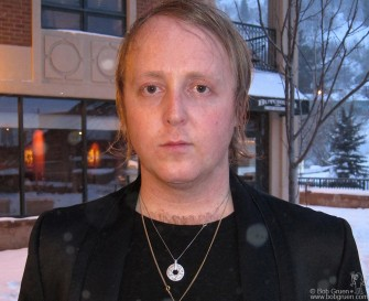 Jan. 23 - Paul McCartney's son James McCartney played several times at the ASCAP Music Cafe during the Sundance Film Festival.