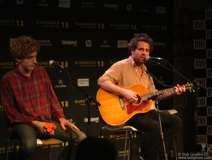 Jan 25 - Utah - I was very impressed by the new band, Dawes, at BMI's Sundance Snowball music showcase.