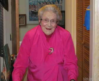 Feb. 2 - Chapel Hill, NC - My Mother, Elizabeth, celebrated her 99th birthday, healthy and smiling! It was my mom who taught me to develop and print my photos and started me on my photography journey.