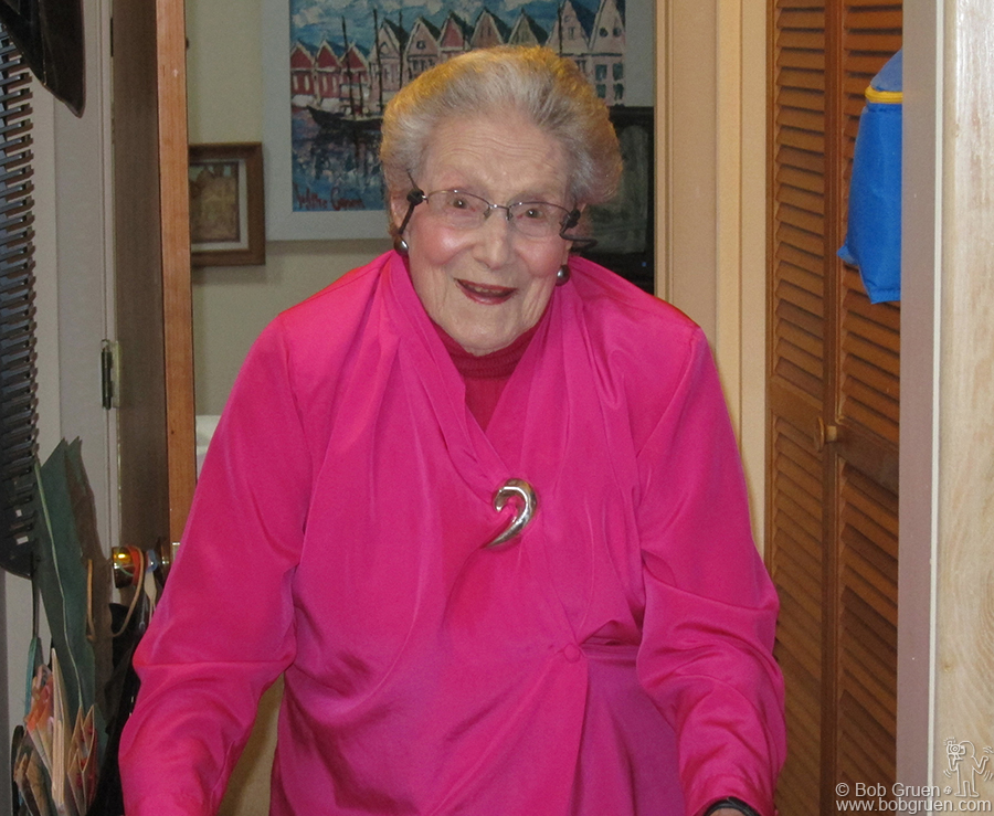 Feb 2 - Chapel Hill, NC - My Mother, Elizabeth, celebrated her 99th birthday, healthy and smiling! It was my mom who taught me to develop and print my photos and started me on my photography journey.
