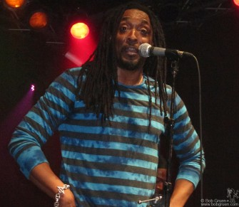 Feb. 8 - New York - Bernard Fowler headlined at the Highline Ballroom, for a very funky night.