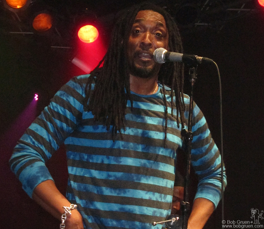 Feb 8 - NYC - Bernard Fowler headlined at the Highline Ballroom, for a very funky night.