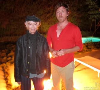 Feb. 24 - Los Angeles - I visited with BP Fallon at his friend David Holmes' house. David's a very cool guy who wrote the music for the short documentary 'The Shore' which won an Oscar award the next night!