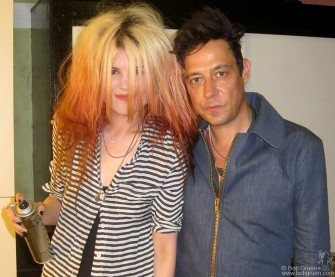 August 15 - Los Angeles, CA - The Kills - Alison Mosshart and Jamie Hince put on a great show at the Mayan Theater.