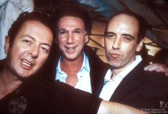 September 2001, Joe and Mick Jones came to the opening party for my book and photo exhibition of the Clash.