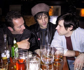 Joe Strummer, Jesse Malin & Ryan Adams, NYC - 2002