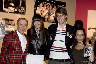 Tito introduced his girlfriend Carol to Dr. Bias and Celita de Carvalho.