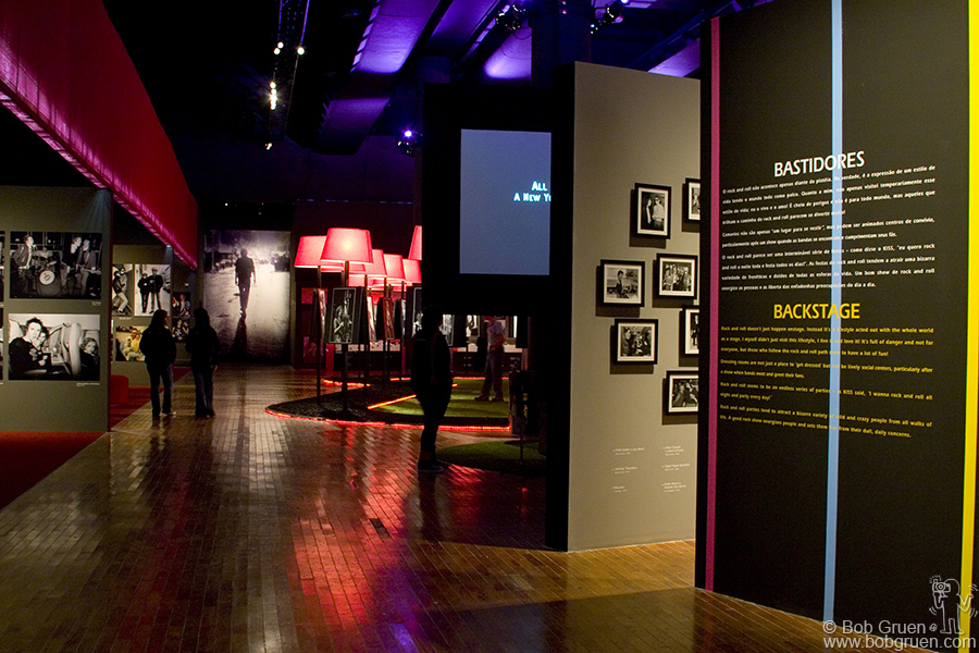 The exhibition is divided into 9 sections each one focusing on a different theme.