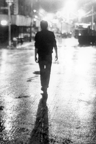 Joe Strummer NYC 1978.