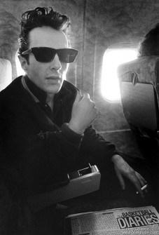 Joe on a plane 1980.