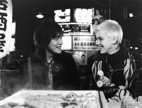 Yutaka Tadokoro & Carrie Hamilton, Tokyo - 1987