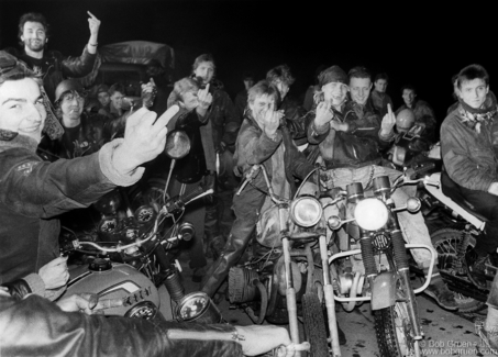 Moscow Bikers, Moscow - 1989
