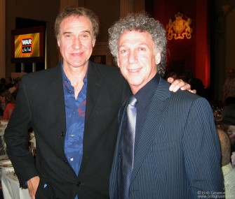 It felt surreal to be congratulated by my hero, Kinks front man Ray Davies who won the Songwriters award.