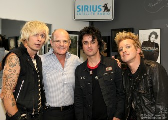 September 14 - New York City - Green Day with Scott Greenstein, head of SiriusXM Satellite Radio.