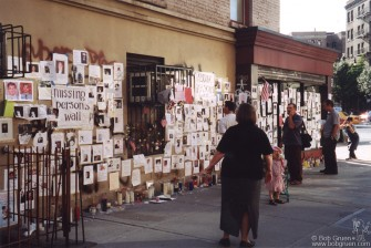 It was heartbreaking for weeks afterwards to see the homemade missing persons signs all over the city.