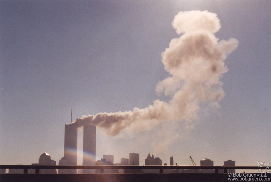 Photo from the same highway on Sept 11, 2001.