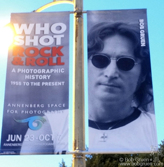 The Annenberg Space for Photography in Los Angeles promoted the 'Who Shot Rock & Roll' exhibit with 250 street posters all over town.