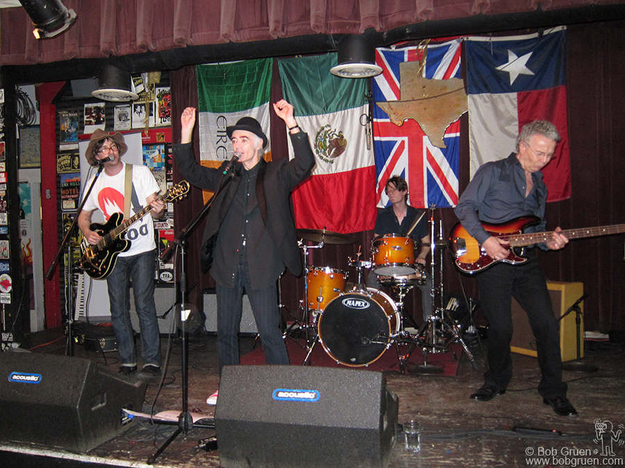 BP Fallon put on his own show at Jovita's with Aaron Lee Tasjan, Mark Stepro and Nigel Harrison.