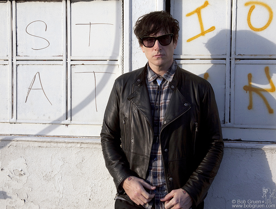 Dec 9 - NYC - I did a photo session with Butch Walker while he was in town appearing in several shows in New York.