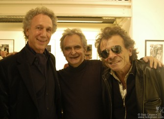 At the opening in Paris Marc Zermati, who curated the exhibit, joined me with Rock & Folk magazine Editor Philippe Manouevre.