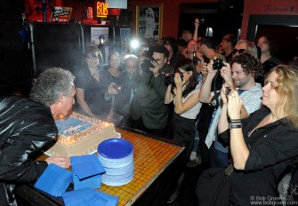 Three days later there was a great big celebration for my birthday in New York with about 300 or so of my closest friends at the R Bar on the Bowery.