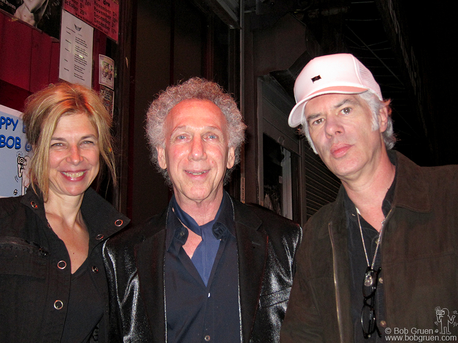 Sara Driver and Jim Jarmusch came to the party and Sara met someone from the NY Times which led to a a big story in the paper about her long lost film that was recently found and restored.